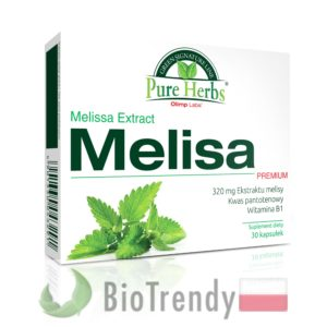 BioTrendy - Melisa Premium PL - tabletki na uspokojenie – tabletki na stress