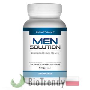 BioTrendy - Men Solution PL - tabletki na przyrost masy miesniowej – tabletki na mase miesniowa