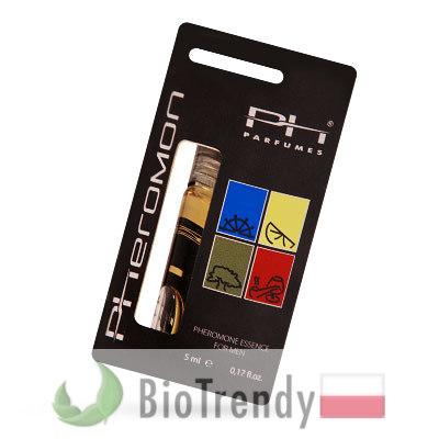 BioTrendy - PH Pheromone Perfume Essence Woody Line PL - feromony dla mezczyzn – meskie feromony