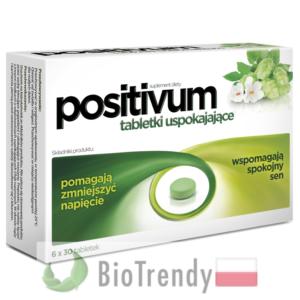 BioTrendy - Positivum PL - tabletki na uspokojenie – tabletki na stress