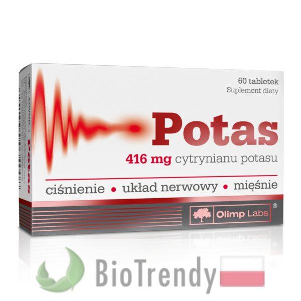 BioTrendy - Potas PL - tabletki z witaminami – tabletki z mineralami