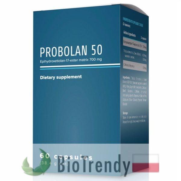 BioTrendy - Probolan 50 PL - tabletki na przyrost masy miesniowej – tabletki na mase miesniowa