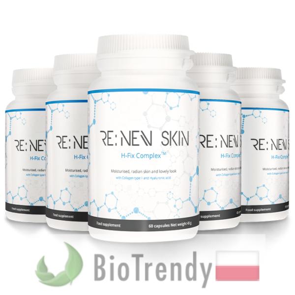 BioTrendy - ReNev Skin PL - tabletki na zmarszczki – tabletki na stres oksydacyjny
