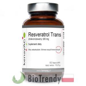 BioTrendy - Resveratrol Trans PL - tabletki na zmarszczki – tabletki na stres oksydacyjny