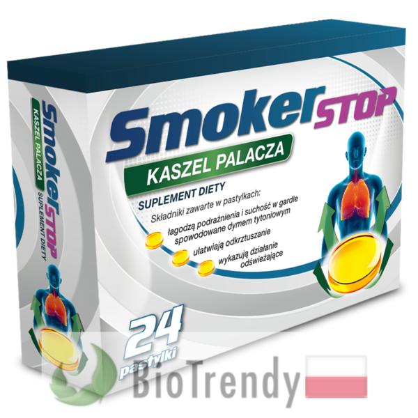 BioTrendy - SmokerSTOP PL - tabletki na rzucenie palenia – tabletki pomajacace rzucic palenie