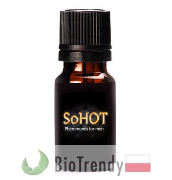 BioTrendy - SoHot Men PL - feromony dla mezczyzn – meskie feromony