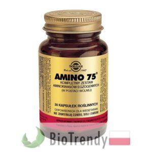 BioTrendy - Solgar Amino 75 PL - tabletki na przyrost masy miesniowej – tabletki na mase miesniowa