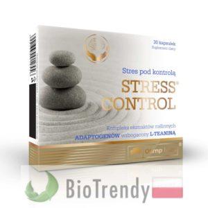 BioTrendy - Stress Control PL - tabletki na uspokojenie – tabletki na stress