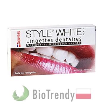BioTrendy - Style White Wipes PL - wybielanie zebow - snieznobialy usmiech
