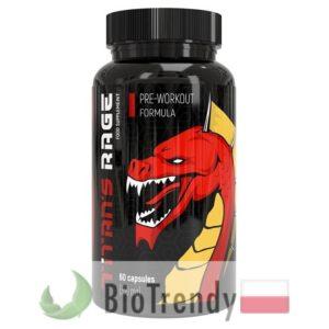 BioTrendy - Titan's Rage PL - przedtreningowe tabletki na przyrost masy miesniowej - przedtreningowe tabletki na mase miesniowa