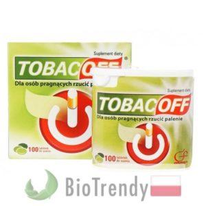 BioTrendy - TobacOff PL - tabletki na rzucenie palenia – tabletki pomajacace rzucic palenie