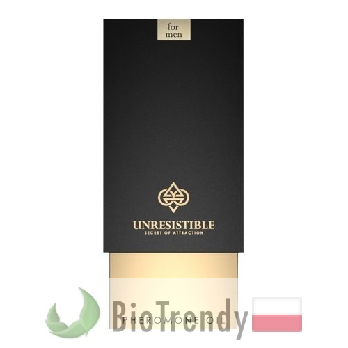 BioTrendy - Unresistible Man PL - feromony dla mezczyzn – meskie feromony