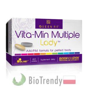 BioTrendy - Vita-Min Multiple Lady PL - tabletki z witaminami – tabletki z mineralami
